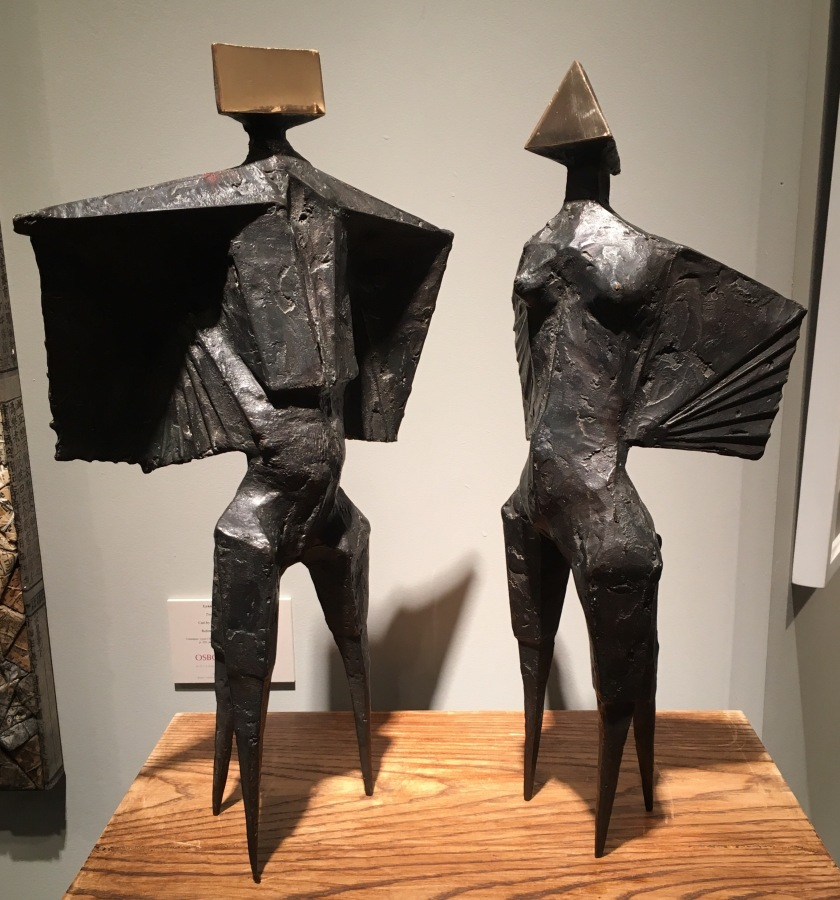 Two Winged Figures