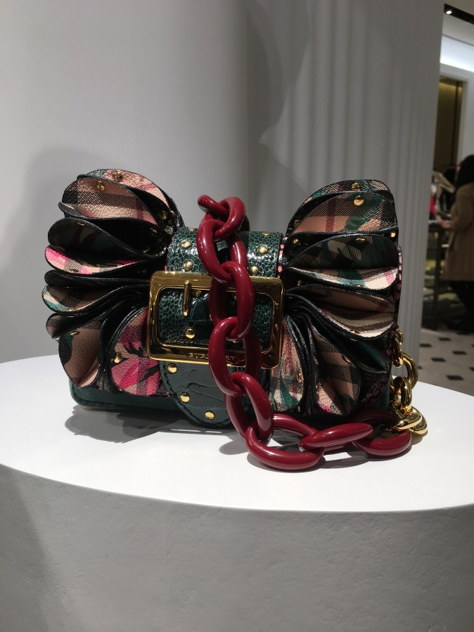 Ruffles And Buckle From Burberry