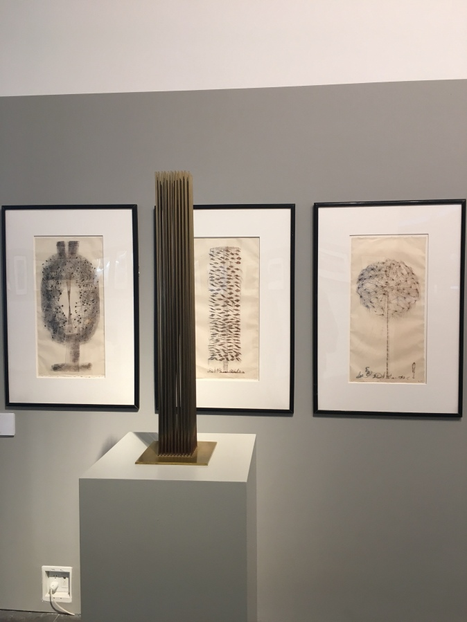Monotypes and Sculpture