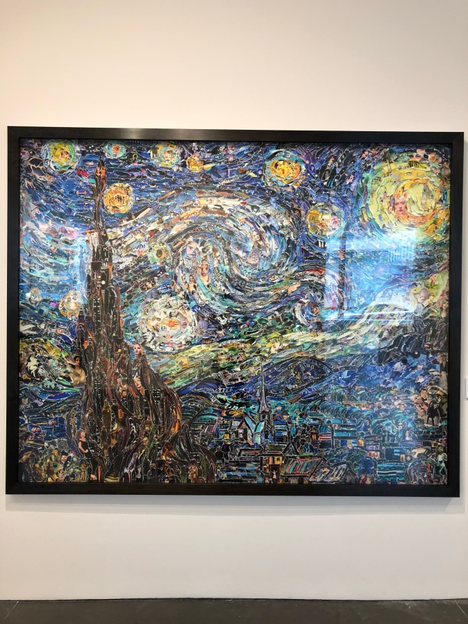 Starry Night After Van Gogh